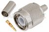 TNC Male Connector Crimp/Crimp Attachment for RG55, RG142, RG223, RG400, RG141 -- PE4047 -Image