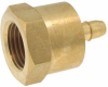 """1/8"""" NPT Internal Pipe Barb Fitting -- MPFAH-8 -- View Larger Image"""