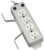 For Patient-Care Areas - 4-outlet Medical-Grade Power Strip with Cord Wrap and Drip Shield -- PS410HGOEMX