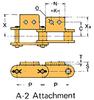 Plastic Sleeve Chain Attachment -- CS2062SSD 1L A-2 -Image