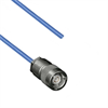 TRS SUBMINIATURE 3-SLOT SOLDER/CLAMP PLUG TO BLUNT 30-02003 .150 O.D. CABLE -- MP-2456-24 -Image