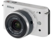 Nikon 1 J1 White 10.1mp 3x (10-30mm VR Lens) Zoom 3in LCD Camera w/ 1080p Full HD Video -- 27528