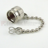 TNC Male Open Circuit Connector Cap With 2.76 Inch Chain -- SC2067 -Image