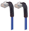 Shielded Category 6 Right Angle Patch Cable, Right Angle Up/Right Angle Up, Blue, 30.0 ft -- TRD695SRA5BL-30 -Image