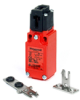 MICRO SWITCH GKE Series Dual Entry Key-Operated Safety Switch, 1NC/1NO Direct Opening, Slow Action, Break-Before-Make (B.B.M.), 1/2 NPT, Plastic, Silver Contacts -- GKEA03L -Image