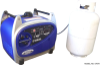 Triple-Fuel Yamaha EF2400iS Inverter Generator