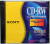 Sony - CDRW650HS for High Speed Drive