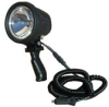 6 Million Candlepower Spotlight with Handle, 12 foot Coil Cord and Cigarette Plug - 12 / 24 Volts DC -- HUL-18