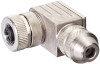 M12 female 90° B-cod. shielded field--wireable Profibus -- 7000-14031-0000000 - Image
