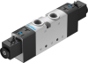 Air solenoid valve -- VUVS-LT30-B52-D-G38-F8-1C1 -Image