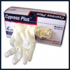 Cypress Plus LP Textured Latex Exam Gloves