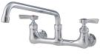 8 IN Wall Mount Faucet with 12 IN Swivel Spout -- 0239897 - Image