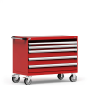 R Mobile Cabinet, with Partitions, 4 Drawers (48