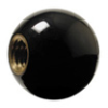 Phenolic Ball Knob, Brass Insert, English Threads -- KD-1045