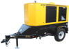 Winco RP80 - 65kW Industrial Towable Generator w/ Trailer -- Model RP80 - Image