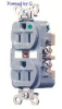 Duplex, Standard Red 20A 125V AC 2P -- 78358543576-1