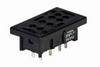 General Purpose Relay Socket, 8-Blade PCB Mount -- 78040097631-1