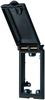 Modlink MSDD front panel interface frame modul single metal black -- 4000-68112-0000000