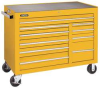 Rolling Workstation,50 In,10 Dr,Yellow -- 5RRL3