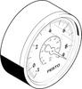 Vacuum gauge -- VAM-63-V1/9-R1/4-EN -Image