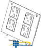 Legrand - Wiremold Replacement Dual 20A Gasketed.. -- KA700