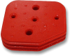 Delphi 12077994 Metri-Pack 5-Way Connector Seal, Red -- 39023 -Image