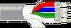 RGB Video, Mini Hi-Res, #25-4 Coax Solid TC, CMR -- 1278R -- View Larger Image