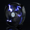 Xigmatek XAF-F1454 120/140mm LED Case Fan - Black -- 70945