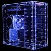 Sunbeam 9 Bay Acrylic Case - UV Blue -- 23103
