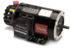 AC MOTOR 0.25HP W/ENC 1800RPM 56C 230/460VAC 3-PH ROLL-STEEL BLACKMAX -- Y592-A772 - Image