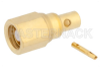 SMC Plug Connector Solder Attachment for PE-SR405AL, PE-SR405FL, PE-SR405FLJ, PE-SR405TN, RG405 -- PE44977 -Image