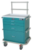 Classic Short Four Drawer Workstation with Mechanical C.. -- 7351