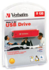 Verbatim Store n Go USB Flash Drive - 8GB -- 95507