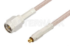 SMA Male to MC-Card Plug Cable 60 Inch Length Using RG316 Coax -- PE36108-60 -Image