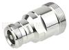 7/16 DIN Female (Jack) to 4.1/9.5 Mini DIN Female (Jack) Adapter IP67 UnMated, Tri-Metal plated brass body, 1.35 VSWR -- SM4468 - Image