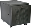 SmartRack 12U IP54 Server-Depth Rack Enclosure Cabinet for Harsh Environments, 230V -- SRX12UBFFD -- View Larger Image