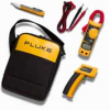 Fluke 62/322/1AC II IR Thermometer, Clamp Meter and Voltage Detector Kit