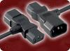 PIGGYBACK IEC-60320-C14/C13 to IEC-60320-C15 HOME • Power Cords • IEC/Jumper Power Cords • Piggyback -- 7001.072 -Image
