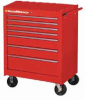 "APEX TOOLS 83125RD ( 27"" 7 DRAWER TEP SERIESRED ROLLER CABINET ) -- View Larger Image"