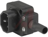 Connector, AC Plug Mates, Angled Entry -- 70080637
