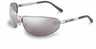 HD503 - Harley Davidson Safety Glasses, HD500 Silver Frame Silver Mirror Lens -- GO-86325-28 -- View Larger Image