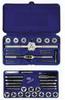 IRWIN TAP & DIE 39PC SET MS/RD FRACTIONAL -- Model# 23614