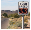 Radar Speed Control Sign -- RU2 FAST 275