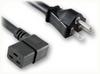NEMA 6-20P to IEC-60320-C19 RIGHT ANGLE HOME • Power Cords • High Voltage Power Cords • Straight Blade Power Cords