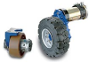 Electric Wheel Drives -- Transmission with horizontal motor