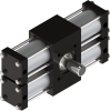 Dual Rack Three Position Rotary Actuator -- A42