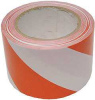 Marking Tape,Striped,Red/White,3x108ft -- 3JXY1
