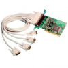 4 Port RS232 PCI Serial Port Card DB9 -- UC-268