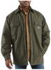 Men's Chore Flannel Shirt Jac/Quilt Lined -- CAR-100093