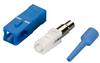 Fiber Optic Connector, Ceramic Ferrule, SC Single-Mode Simplex, 126-µm/0.9-mm -- FOT206